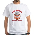 Lions Drag Strip White T-Shirt