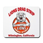 Lions Drag Strip Mousepad