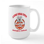 Lions Drag Strip Large Mug