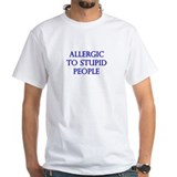 Allergic To Stupid People Shirt