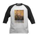 First to Fight for Democracy' Kids Baseball Jersey