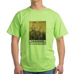 First to Fight for Democracy' Green T-Shirt