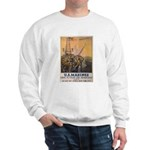 First to Fight for Democracy' Sweatshirt
