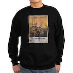 First to Fight for Democracy' Sweatshirt (dark)