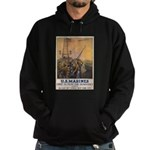 First to Fight for Democracy' Hoodie (dark)