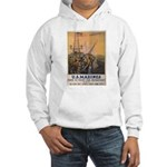 First to Fight for Democracy' Hooded Sweatshirt