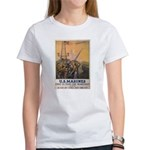 First to Fight for Democracy' Women's T-Shirt
