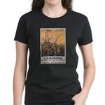 First to Fight for Democracy' Women's Dark T-Shirt