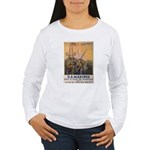 First to Fight for Democracy' Women's Long Sleeve