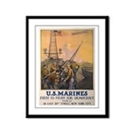 First to Fight for Democracy' Framed Panel Print