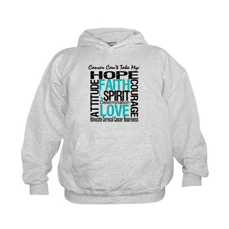Cervical Cancer Can't Kids Hoodie