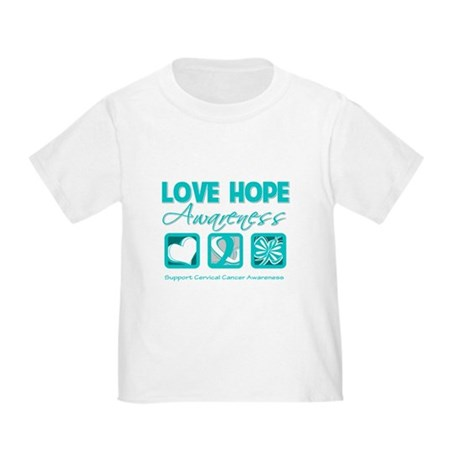 Cervical Cancer LoveHope Toddler T-Shirt