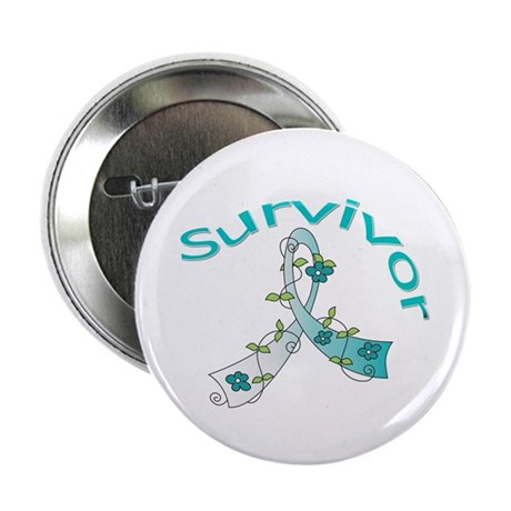 CervicalCancer Survivor 2.25&quot; Button