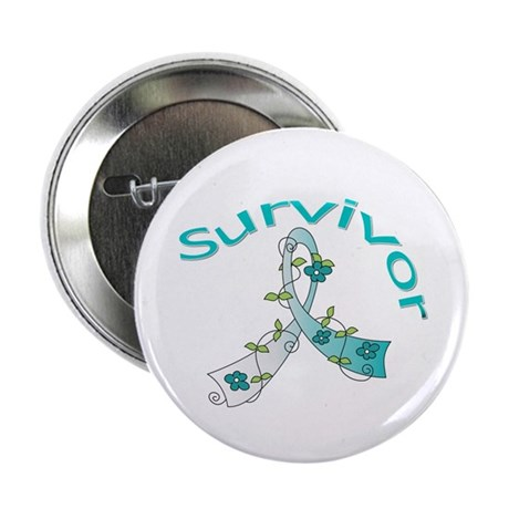 CervicalCancer Survivor 2.25&quot; Button (10 pack)