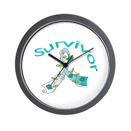 CervicalCancer Survivor Wall Clock