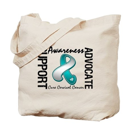 Cervical Cancer Activism Tote Bag