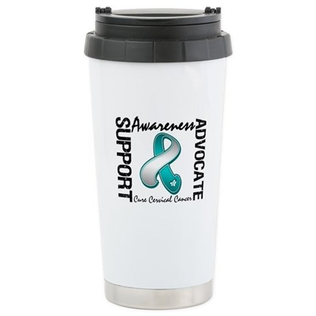 Cervical Cancer Activism Ceramic Travel Mug