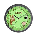 Jungle Adventure Wall Clock - CLARK