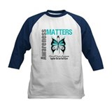 Cervical Cancer ButterflyArt Tee