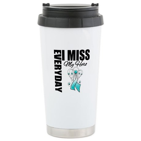 MissMyHero CervicalCancer Ceramic Travel Mug