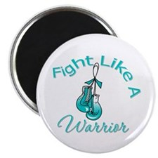 WarriorFight CervicalCancer Magnet