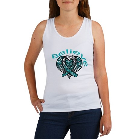 CervicalCancer Believe Women's Tank Top