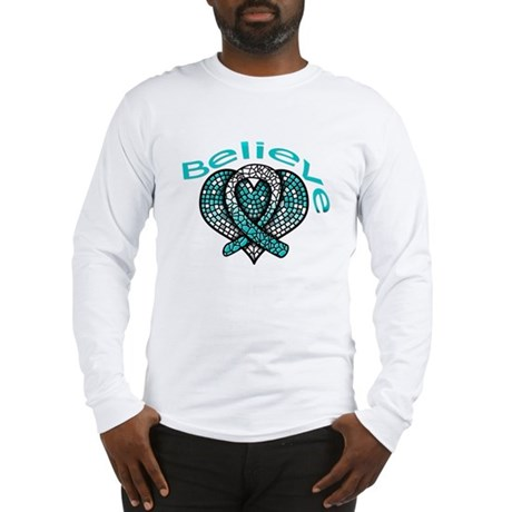 CervicalCancer Believe Long Sleeve T-Shirt
