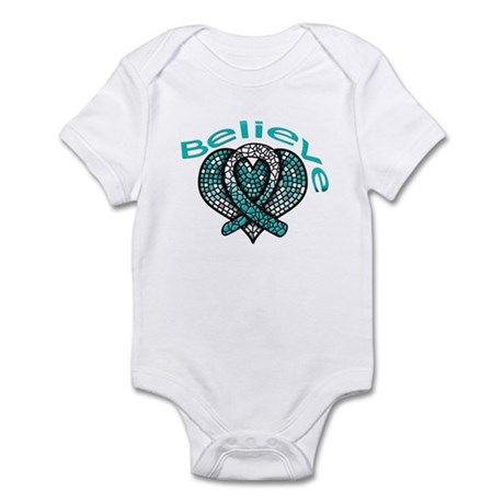 CervicalCancer Believe Infant Bodysuit