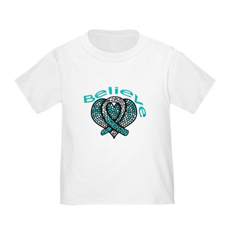 CervicalCancer Believe Toddler T-Shirt