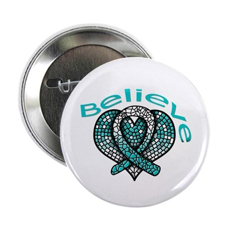 "CervicalCancer Believe 2.25"" Button"