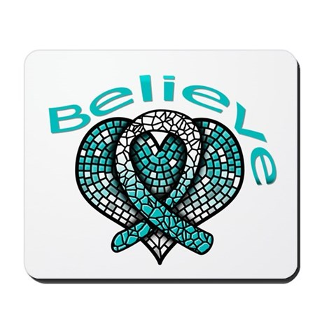 CervicalCancer Believe Mousepad