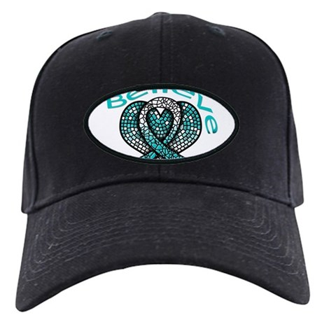 CervicalCancer Believe Black Cap