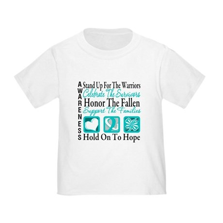 CervicalCancer Advocacy Toddler T-Shirt
