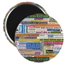 "Best Dad Collage 2.25"" Magnet (10 pack)"