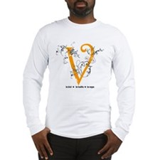 Be vegan Long Sleeve T-Shirt