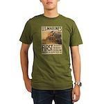 First to Fight in France Organic Men's T-Shirt (da