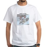 Symi Dream Alarm Cat White T-Shirt