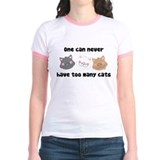 Never Too Many Cats T