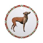 Italian Greyhound Ornament (Round)