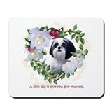 Shih Tzu Heart Love China Mousepad