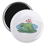 Frogs in Love Magnet