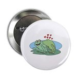Frogs in Love Button
