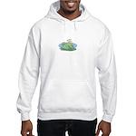 Frogs in Love Hooded Sweatshirt