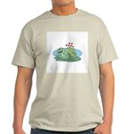 Frogs in Love Ash Grey T-Shirt