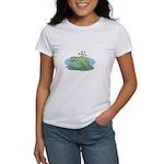 Frogs in Love Women's T-Shirt