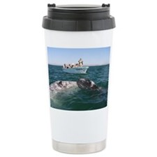 Travel Mug-Whale (Gray)