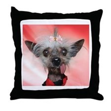 Unique Shelter dogs Throw Pillow