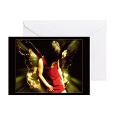 Funny Fairies picture Greeting Cards (Pk of 10)