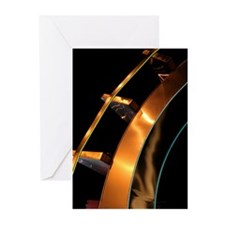 Abstract Metal Sculpture Art Photo Greeting Card