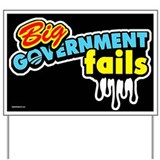 Government Fails Yard Sign